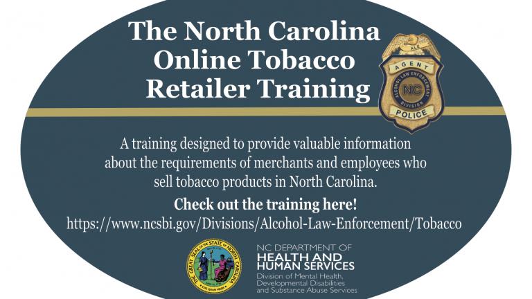 North Carolina Online Tobacco Retailer Training