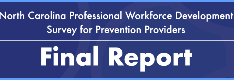 2020 North Carolina Workforce Development Survey for Prevention Providers